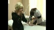 Елза Парини на лазерна епилация