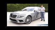 2014 Mercedes-benz S550 (s-class) Test Drive Video Review