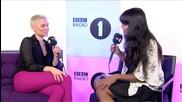 Jessie J chats to Jameela (bbc Radio 1)