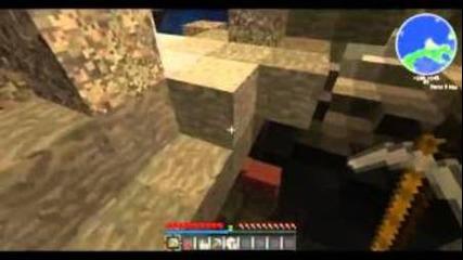Minecraft Mega Survival Ep.3-разучаване на пещера