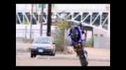 "Motorcycle Stunts ""crazy In Seattle"" Chapter 1 Tricks Crash & Stunting"
