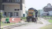 A Man Tries His Best to Get Hit by a Train- Csx Switching Lehigh Cement in Richmond, Va.mpeg