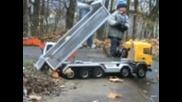Excavating Machine Load Scania