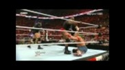 John Cena vs. The Rock // Wwe Raw 4/4/2011 (part 2)