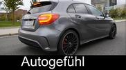 2015 Mercedes A-class A45 Amg test drive review A-klasse Amg - Autogefühl