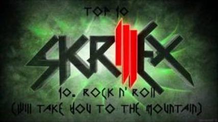 Топ 10 Skrillex Songs/drops (2012)