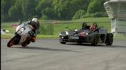 Ktm Crossbow Rr vs Ktm Rc8r - Fifth Gear
