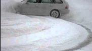 Bmw 330xd в снега 2