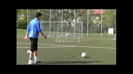 Perfect Soccer Curves | David Beckham Freekick