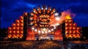 Q-dance at Mysteryland 2012 - Endshow with fireworks