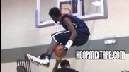 Insane Dunk Under Both Legs Over A 6'2 Guy!!! Justin Darlington Makes It Look Easy