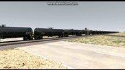 Американски влак в играта Railworks 4