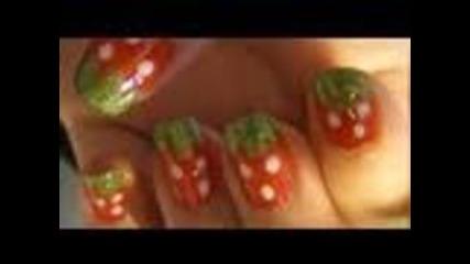 Сладурски ягодови нокти