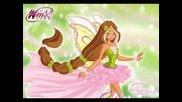 Winx Club - Flora - Transformaciones [con Harmonix y Magic Winx Nick]