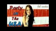 Miley Cyrus - Party In The Usa (kid version)