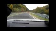 Ето как Reno Megane Rs си играе с Porsche Gt2 Rs