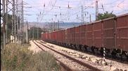 46 044 и 45 200 с товарен влак