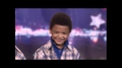 America's Got Talent - хлапета рапират
