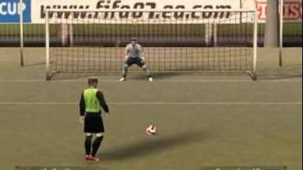 Дузпи Fifa 07 - Spain vs England (епизод 1 )