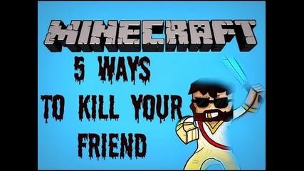 Minecraft: 5 Ways To Kill Your Friend