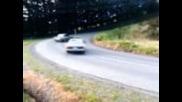 Bmw E30 325i & Ae86 Levin Drifting with crash.. fail.