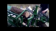 Homemade Firewood Processor - Log Splitter