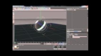 Ефект с топчета в Cinema 4d (първият ми урок :) )