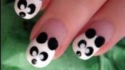 Сладко & лесно изкуство Panda нокти