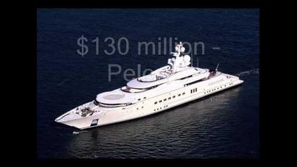 Топ 10 най-скъпи яхти
