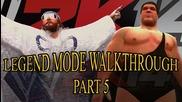 Randy Savage vs. The Million Dollar Man - 30 Years of Wrestlemania Walkthrough Wwe 2k14 Part 5