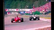 Най-доброто изпреварване на всички времена-спа 2000-мика Хакинен,михаел Шумахер и Рикардо Зонта