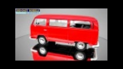 Volkswagen Bus T2 1972 - 1:24 - Welly