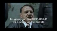 Откачено германче играе Scp-087-b