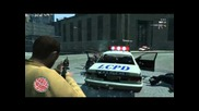 Grand Theft Auto Iv - Битка с полицията ( Amd Fx-8120 3.1ghz & Amd Radeon Hd 6950 2gb)