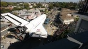 Time-lapse: Space shuttle Endeavour's trek across L.a.