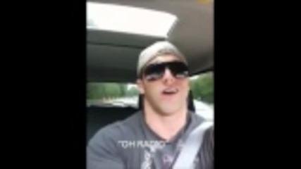 Wwe Zack Ryder pee 10 pesni (smqh)