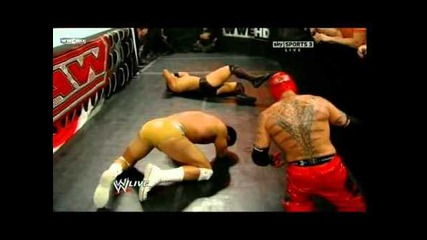 The Miz vs Rey Mysterio vs Alberto Del Rio 5/9/11
