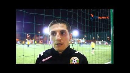 Интервю на Васил Николов пред Bgsport.bg от Бнс 33