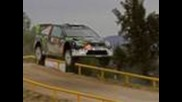 Ken Block and the Monster Energy Ford Focus Rs look impresive at Wrc Rally Mexico
