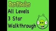 Bad Piggies - 3 Star Walkthrough All Levels (ground Hog Day, When Pigs Fly, Sandbox, Hidden Skulls)