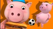 This Little Piggy | Nursery Rhymes | by Littlebabybum