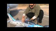 Rc L-39 Albatross Edf Jet Maiden with bad Cg