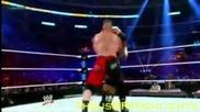 Лятно Тръшване Брок Леснар vs. Трите Хикса Highlights