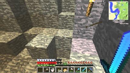 Minecraft Некву Оцеляване with vgme Еп.9 - Киро Хостера и малко копане