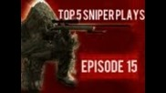 Call of Duty: Top 5 Sniper Plays Ep. 15 by Teamdmg (cod Gameplay/countdown)