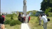 Вмро обнови паметника на Гоце Делчев в Русе