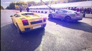 Chevrolet Corvette Zr1 Lpe vs Lamborghini Gallardo Twin Turbo Ugr vs Nissan Gt-r Switzer R850