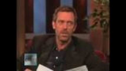 Hugh Laurie : British vs Americans accents