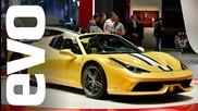 Ferrari 458 Speciale Aperta at Paris 2014 | evo Motor Shows