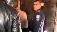 Закриване на място за продажба на наркотици в Харков 04.10.2014